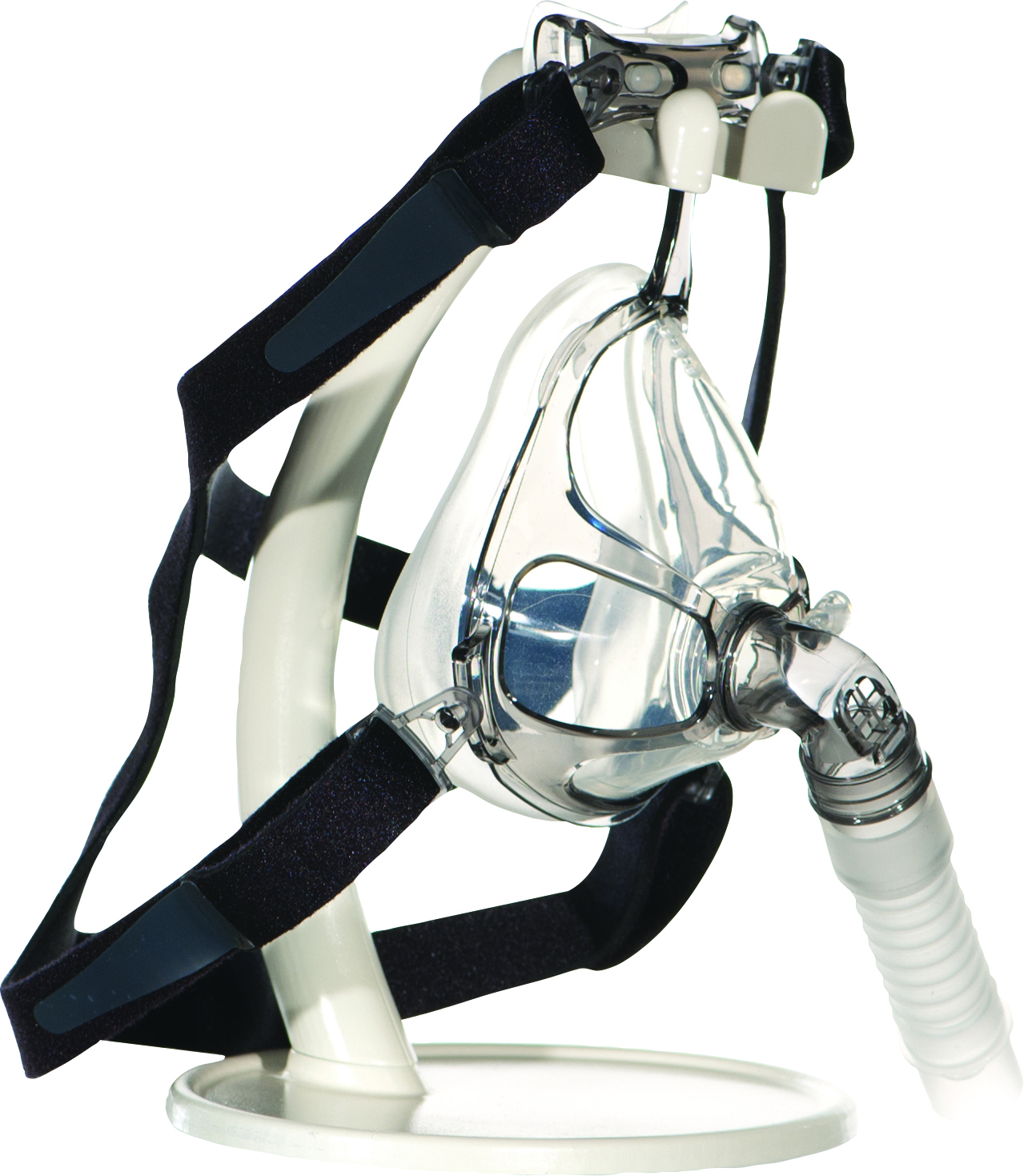 CPAP Mask Stand with Mask
