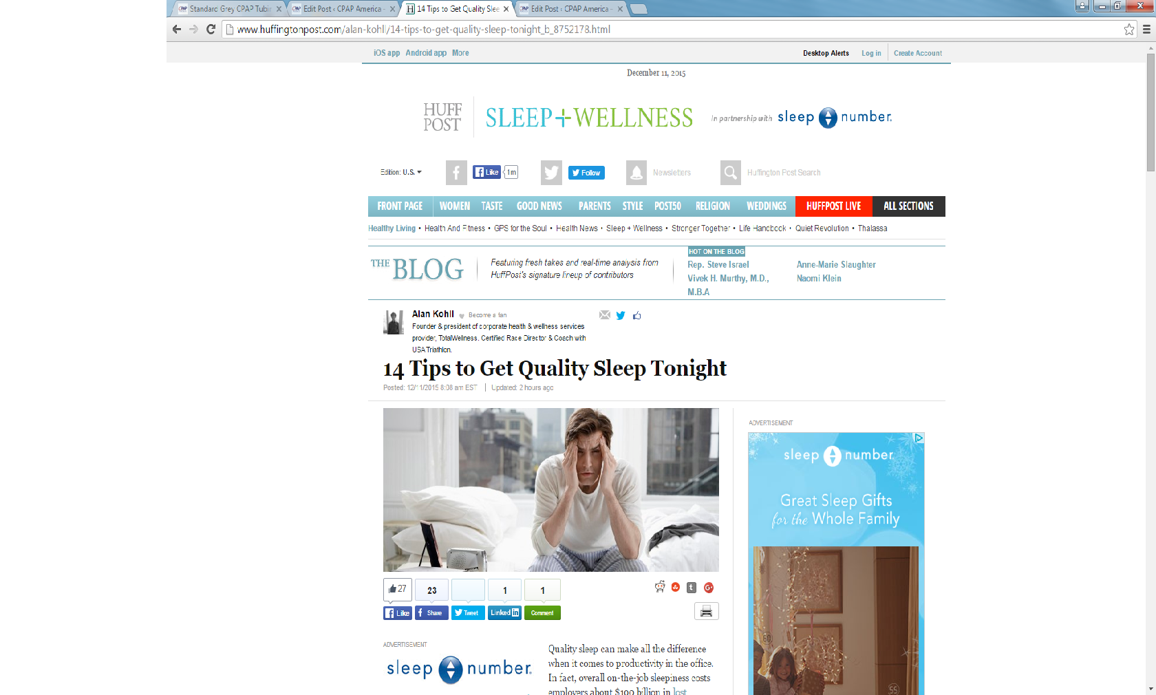 Looking for quality sleep? Check out these tips