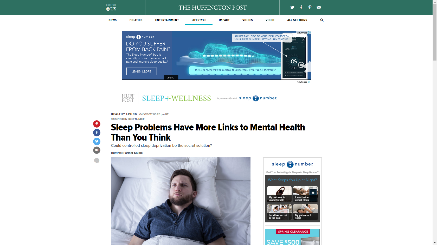Do sleep problems lead to mental issues? or both ?