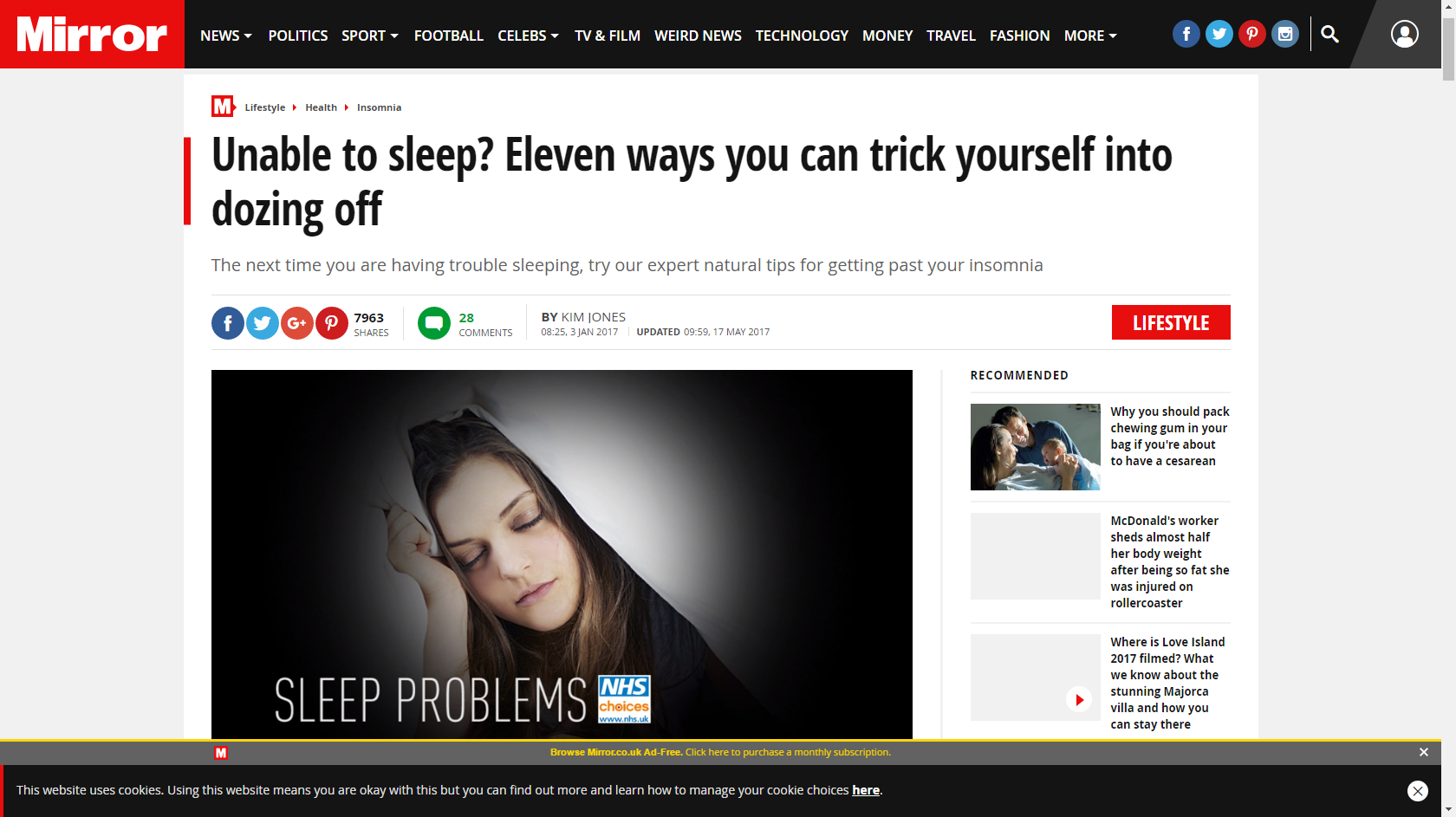Doze off easier with these sleep tips!
