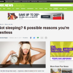 restless sleep